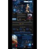 Макет дизайна Lineage 2 Online Игра