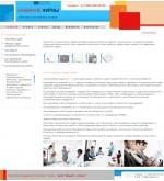 Макет дизайна Бизнес, личный сайт