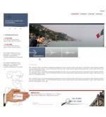 Шаблон дизайна Италия, недвижимость