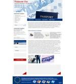 Шаблон дизайна Визы, Visa