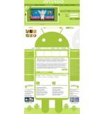 Шаблон дизайна  Android + подарок Андроид