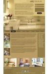 Шаблон сайта  дизайн и ремонт ванной комнаты
