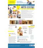 Шаблон сайта  дизайн и ремонт квартир