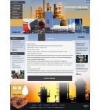 Шаблон дизайна Нефть, Газ