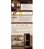 Шаблон сайта  ремонт, отделка квартир, установка дверей
