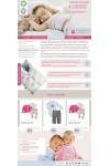 Шаблон сайта детская одежда, постельное белье