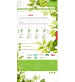 Шаблон сайта экологичные товары