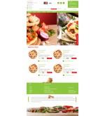 Дизайн сайта psd служба доставки пиццы на дом