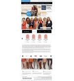 Дизайн сайта одежда, сумки, аксессуары