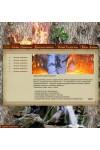 Шаблон сайта природа, магия леса