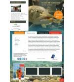 Шаблон сайта платная рыбалка