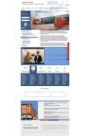 Дизайн сайта логистика, грузоперевозки