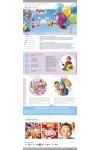 Дизайн сайта  оформление воздушными шарами